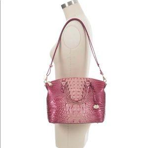 NWT Brahmin Lotus Pink Medium Duxbury satchel bag